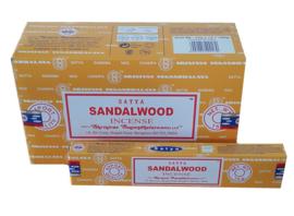 Sandalwood wierook Satya