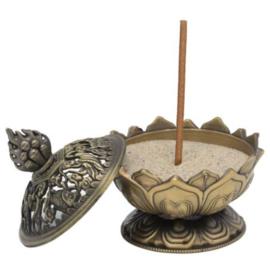 Wierookbrander Lotus bronskleurig