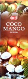 Coconut Mango HEM wierook