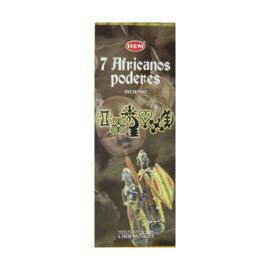 7 African Powers HEM wierook