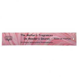 Rozen & viooltjes wierook Moeder's Geuren