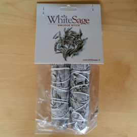 Mini smudge Witte Salie (x2)