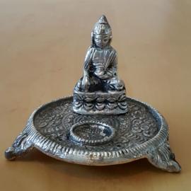 Ronde Metalen Kegel brander (Boeddha)
