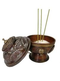 Tibetaanse korrelwierook brander (hangmodel)