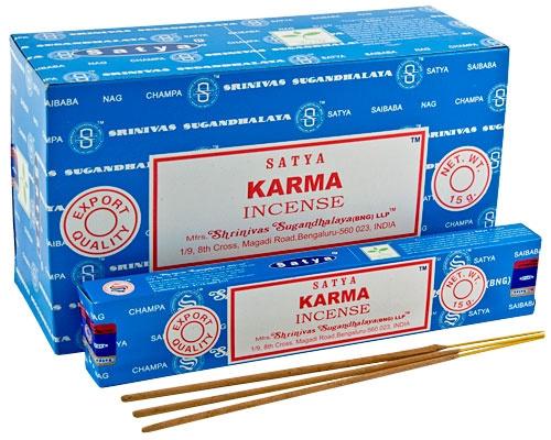 Karma  wierook Satya