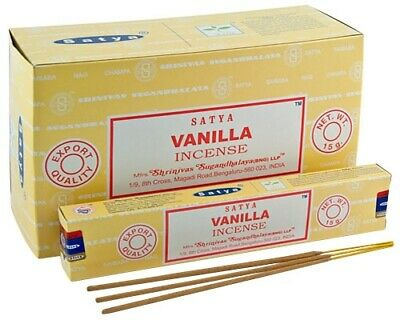 Vanilla  wierook Satya