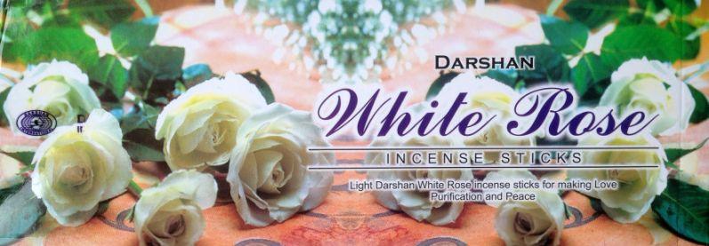 White Rose Wierook Darshan (Witte Roos)