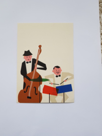 Kaart, muziekanten