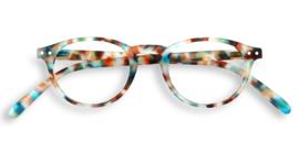Izipizi, leesbril, model A, blue tortoise