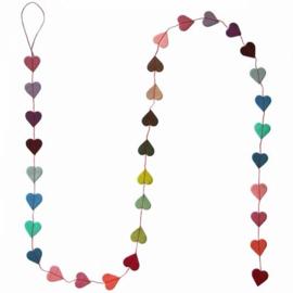 slinger hartjes diverse kleuren