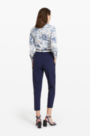 blauwe broek