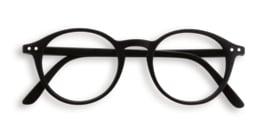 Izipizi, leesbril, model D,  zwart