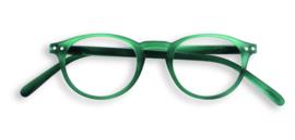 Izipizi, leesbril, model A, groen, diverse sterktes