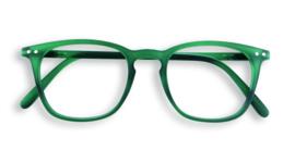 Izipizi, leesbril, model E, groen, diverse sterktes