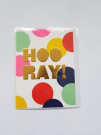 Kaart, Hoo Ray,  blanco, incl. enveloppe