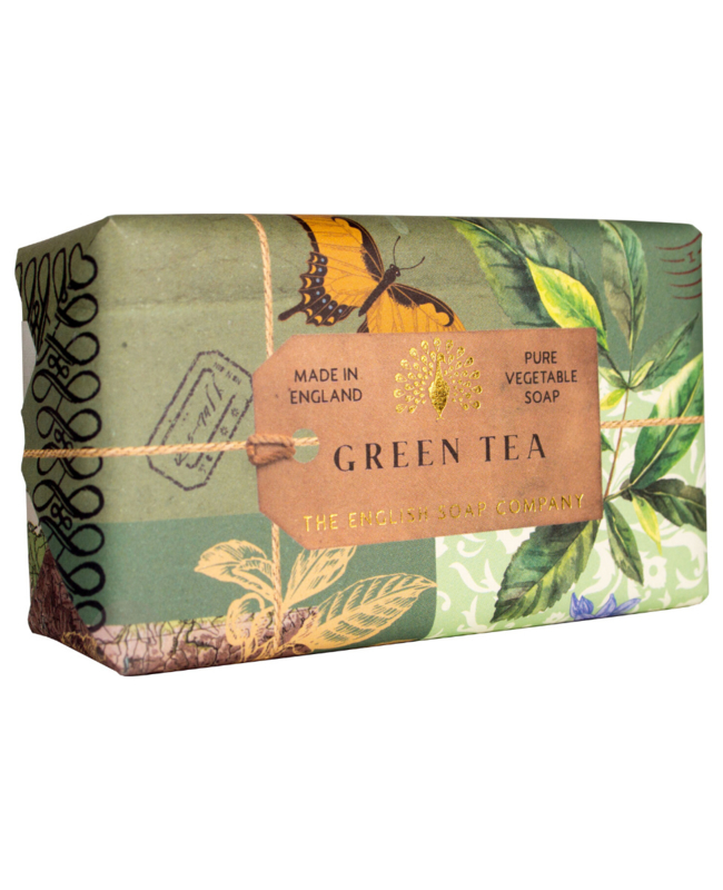 zeep groene thee