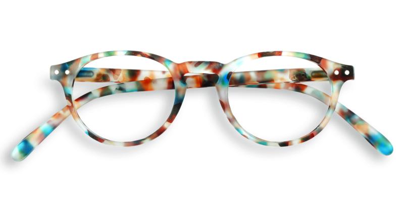 Izipizi, leesbril, model A, blue tortoise, diverse sterktes