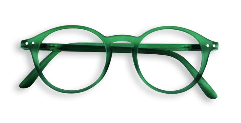 Izipiz, leesbril, model D, groen, diverse sterktes