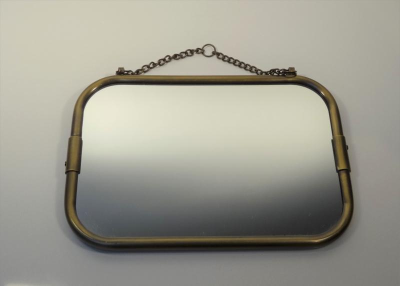 spiegels bronskleurig