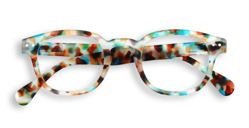 Izipizi, leesbril, model C, blue tortoise