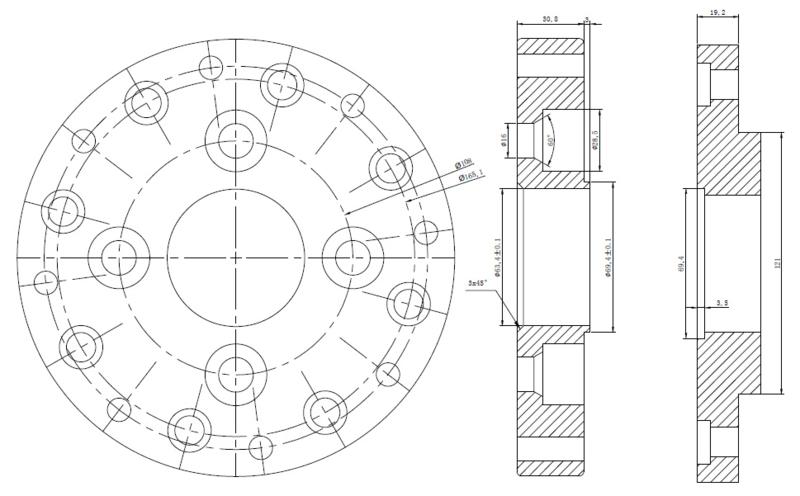 Maatwerk Wieladapters Dikte Adapter 20mmsteekmaat Auto