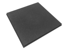 Pvc DHZ Horecavloer zwart (prijs per m2) 500x500x10 mm