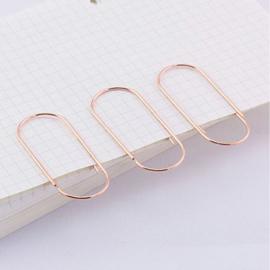 Paperclip koper 50 mm | 10 stuks