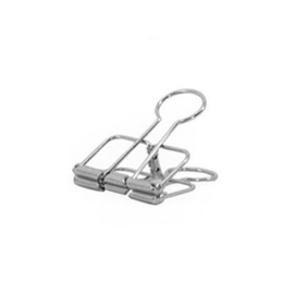 Binder clip zilver 19 mm