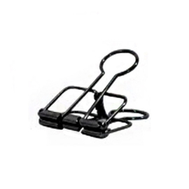 Binder clip zwart 32 mm