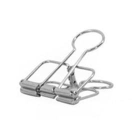 Binder clip zilver 51 mm