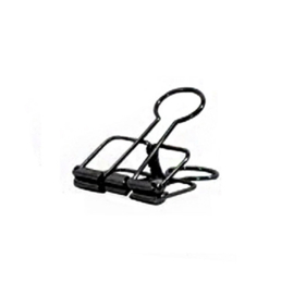 Binder clip zwart 19 mm