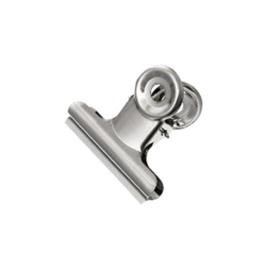 Bulldog clip zilver 31 mm