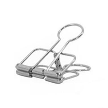 Binder clip zilver 51 mm