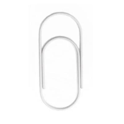 Paperclip wit 50 mm | 10 stuks