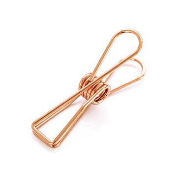 Knijper fish clip koper medium