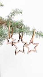 Kersthangers Sterren (set van 3)