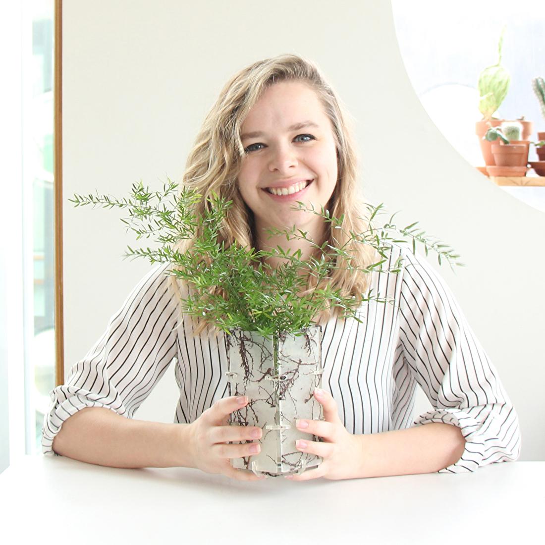 milieuvriendelijke vaas