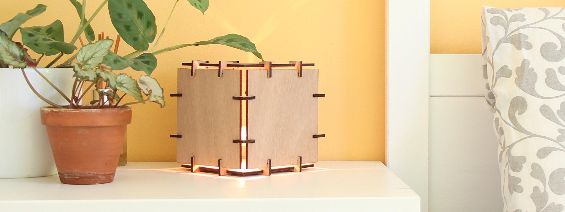 Cube tafellamp