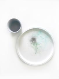 Tray #Aquarelle #GreenAntracietTurquoise