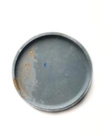 Tray #Gold #GreyBlue #001