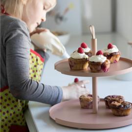 Design Bite Cakeplatform 2 niveaus - Blush