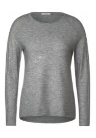 CECIL Geribde trui in melange-stijl