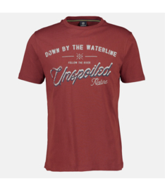 T-shirt Burnt Red