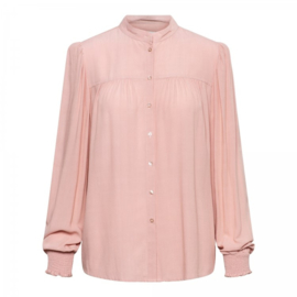 Alana Blouse uni (pink)