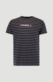 Combi Stripe Crew Neck T-Shirt