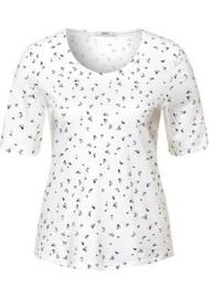 T-shirt met minimalistisch patroon