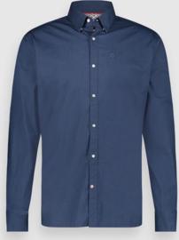 Effen Shirt Dress Blues
