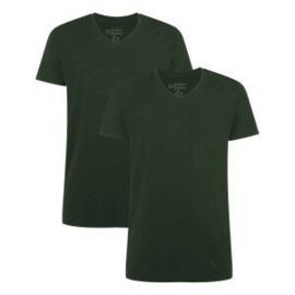 2-pack T-shirt V-neck  extra long