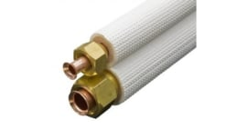 compleet Airco leiding 1/4 x 3/8 ( 3 meter kant en klaar )