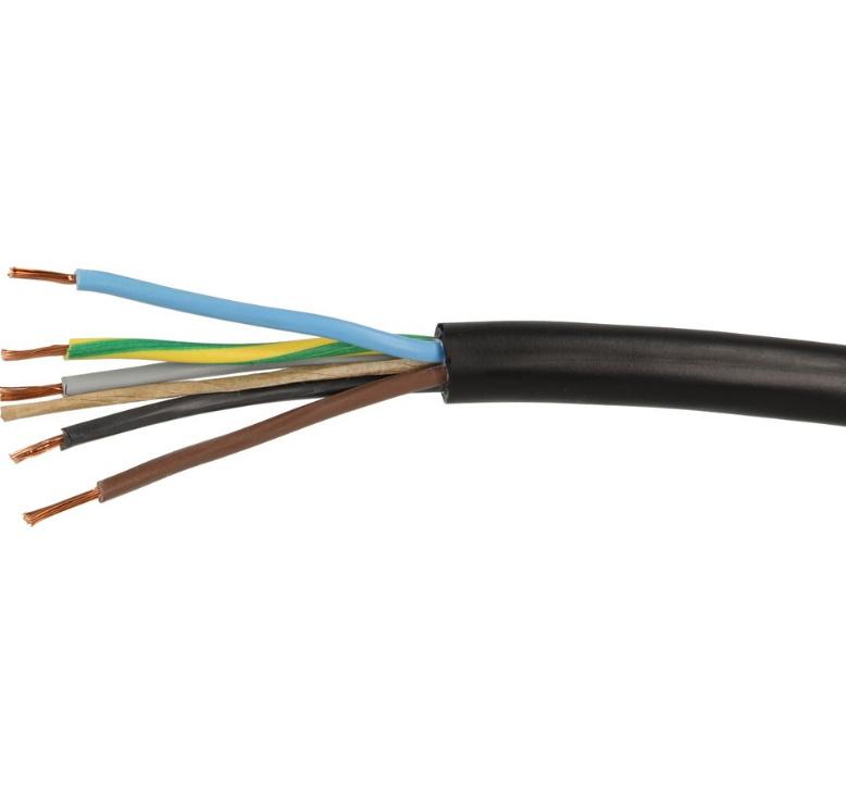 5 Aderige Stuur stroomkabel voor de Airco